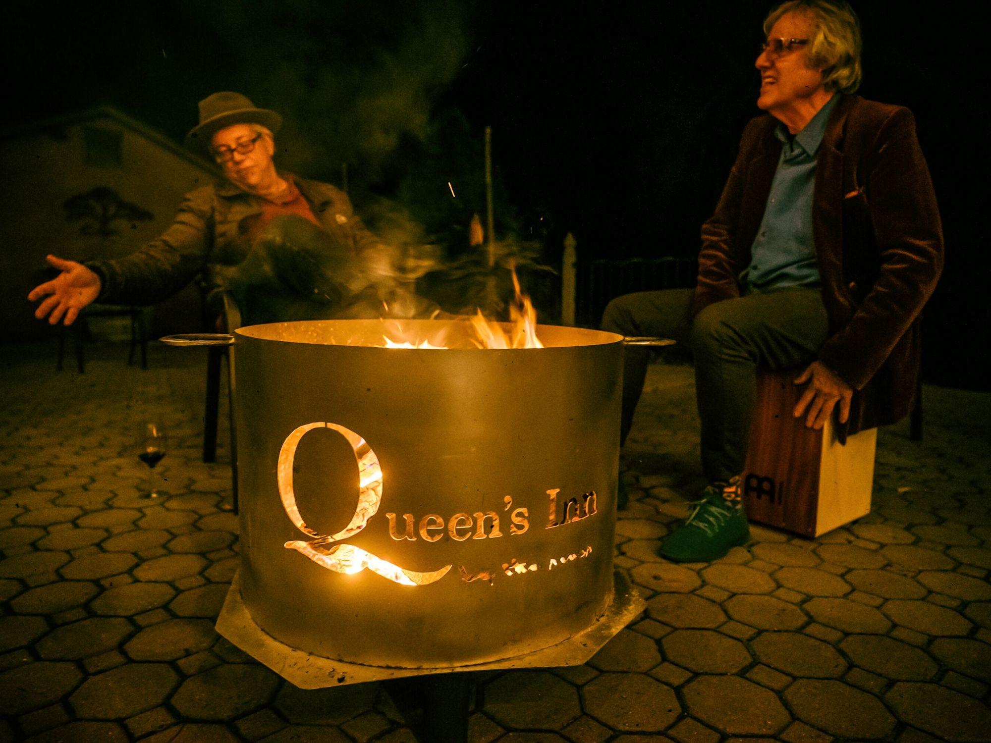 Queen's Beer Garden Fire Pit